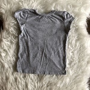 Harry Potter Shirts & Tops - Harry Potter Girls 4T Tee T Shirt Gray Gryffindor